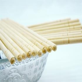 运用一次性竹筷需要记住以下几点