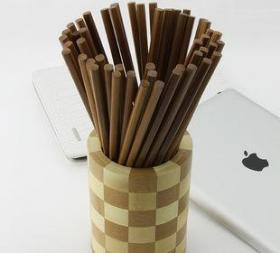 湖南筷子为何一头圆,一头方的原因